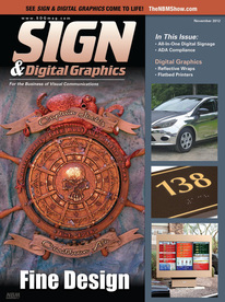 Sign and Digital Graphics Magazine 2012